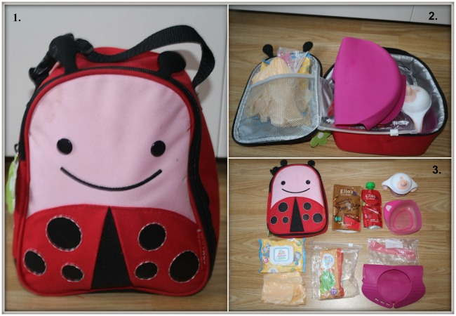 Pink Lining Ambassador Search Entry - Lunch Box with things inside