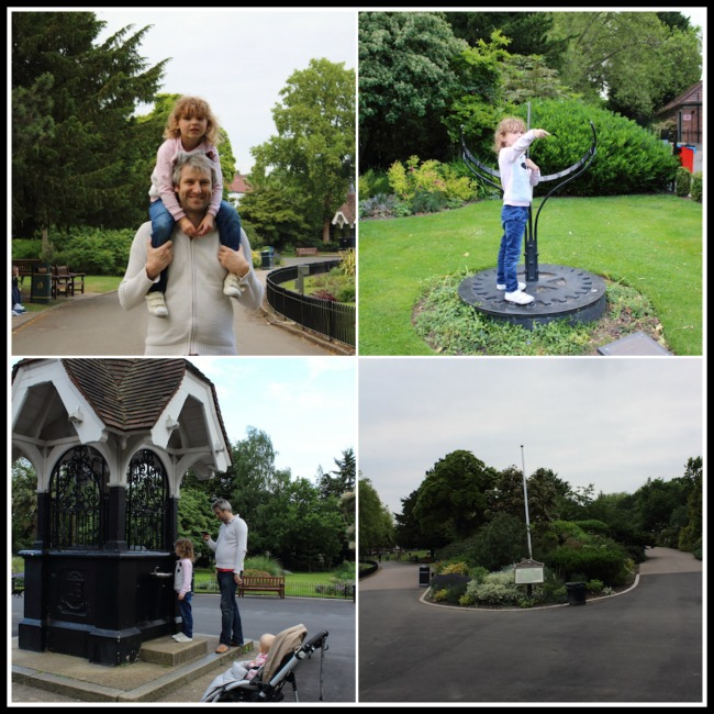 Weekend at the local parks collage 1