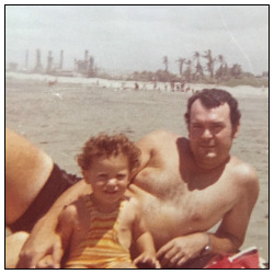 Childhood Memories – With My Dad At The Beach