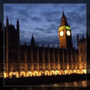 My Sunday Photo #6 – Big Ben lit up at night