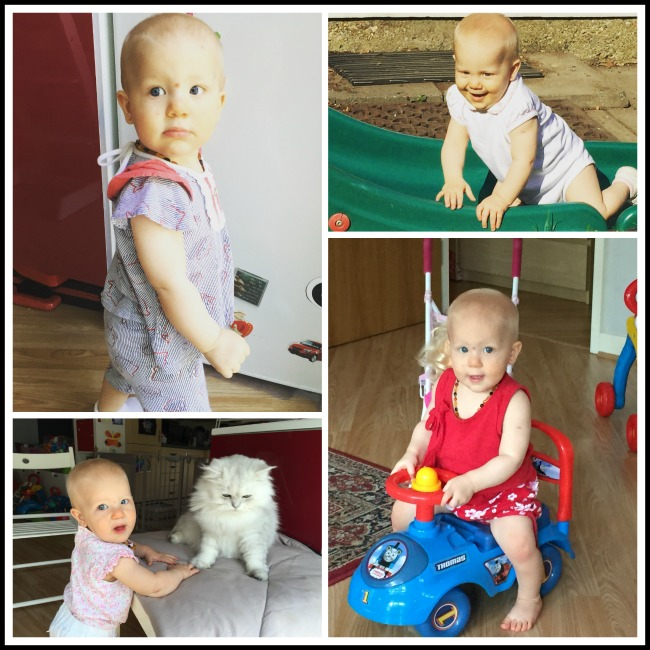 Sienna's 10 months update