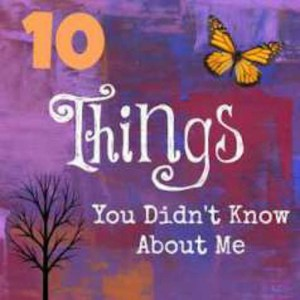 10 things you didn't know about me badge