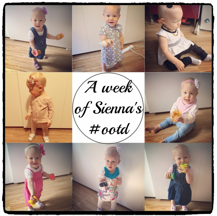 Sienna's #ootd 2nd week August