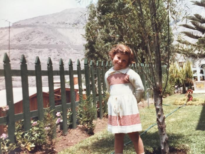 Childhood Memories - Posing for Mummy