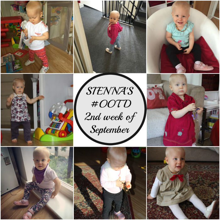 Sienna's #OOTD - 2nd week of Sept