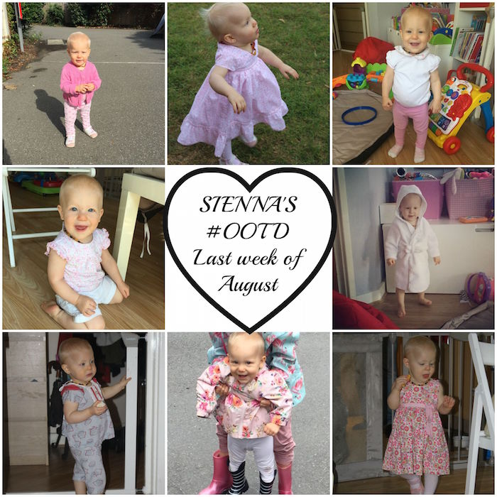 Sienna's #ootd Last week Aug