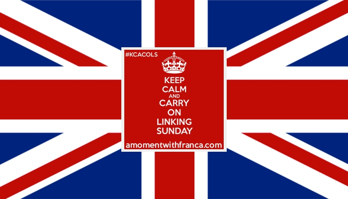 Keep Calm and Carry On Linking Sundays