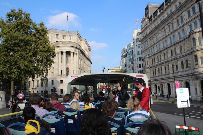 The Original Tour Inside Bus