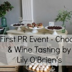 My First PR Event – Chocolate & Wine Tasting by Lily O'Brien's