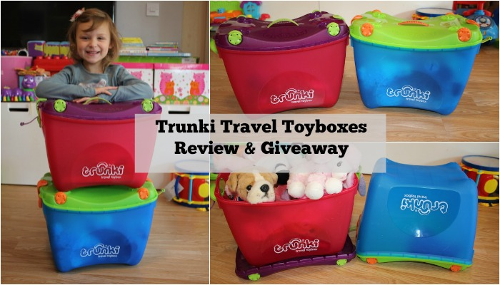 Trunki Travel Toyboxes Review & Giveaway FI