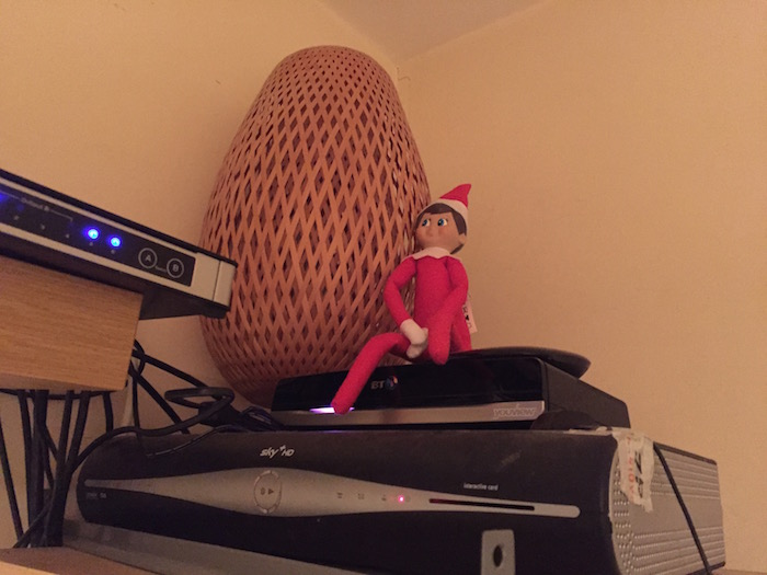 Elf on the Shelf Day 6