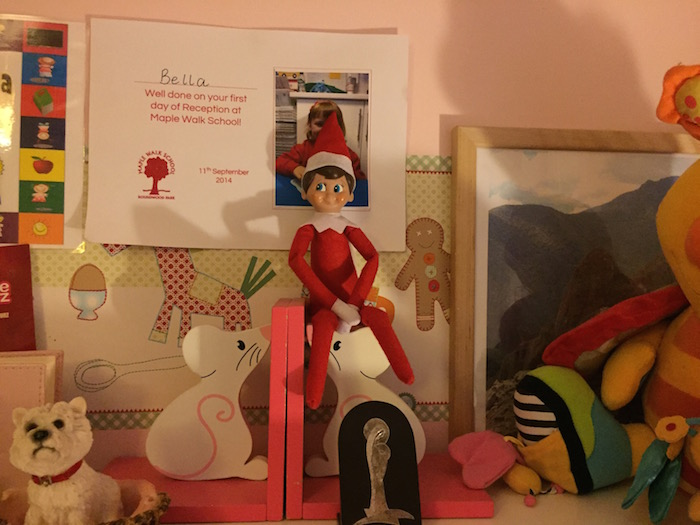 Elf on the Shelf Day 11