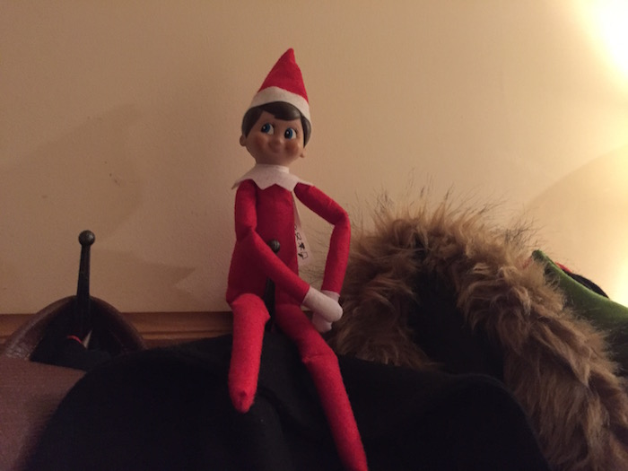 Elf on the Shelf Day 12