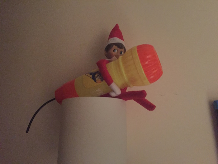 Elf on the Shelf Day 7