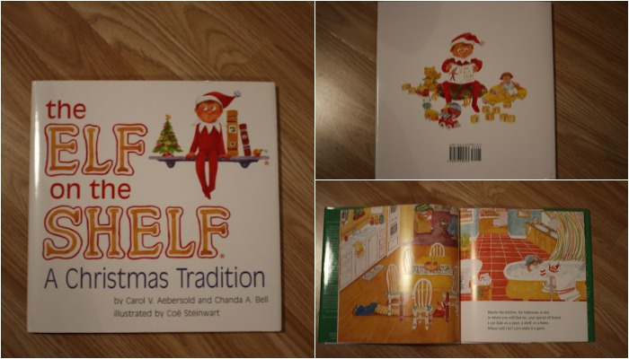 Elf on The Shelf Book Collage 2