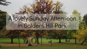 A Lovely Sunday Afternoon in Golders Hill Park