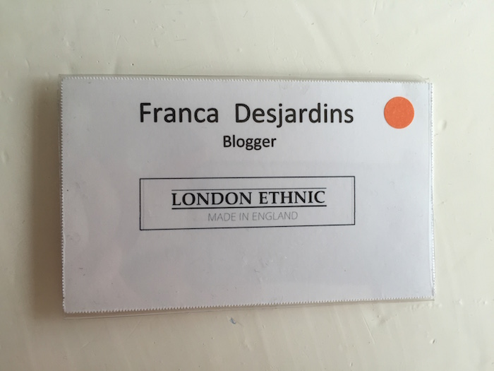 London Ethnic Press/Blogger Badge