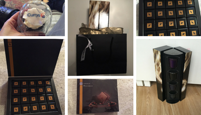 Inside the Nespresso Goody Bag