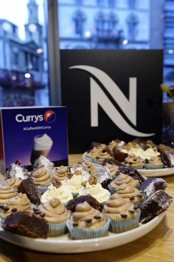 Coffee Cupcakes - Nespresso Event