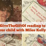 #GiveTheGiftOf reading to your child with Miles Kelly