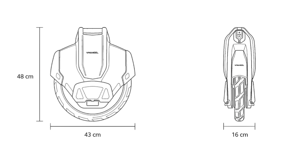 Uniwheel Specs