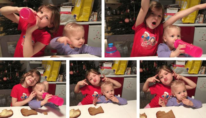 Wicked Wednesdays - Siblings having fun