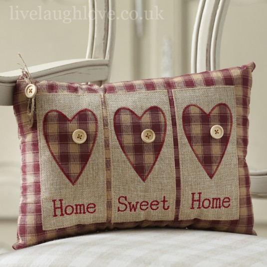 Cushions Live laugh love