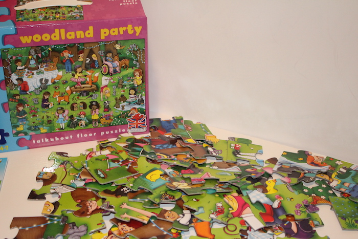 Orchard Toys: Woodland Party Box and pieces