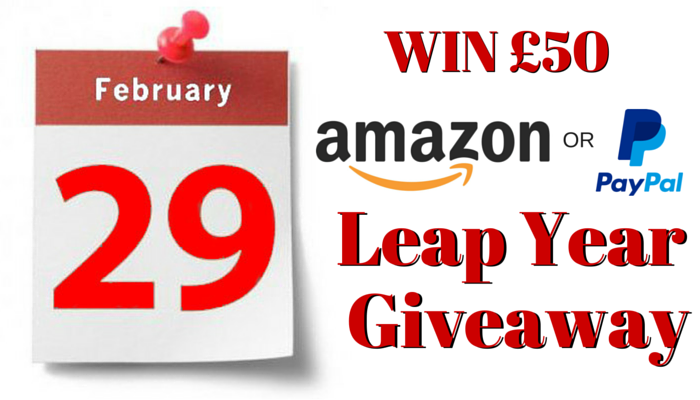 Leap Year Amazon or Paypal Giveaway