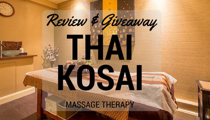 Thai Kosai Review & Giveaway FI