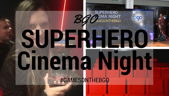 BGO Superhero Cinema Night FI
