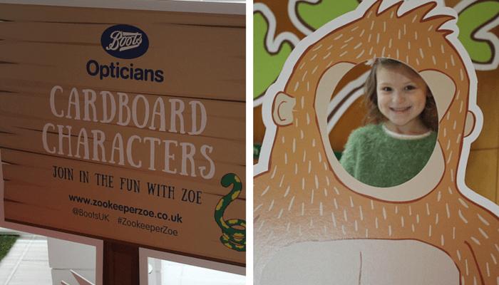 Cardboard Characters