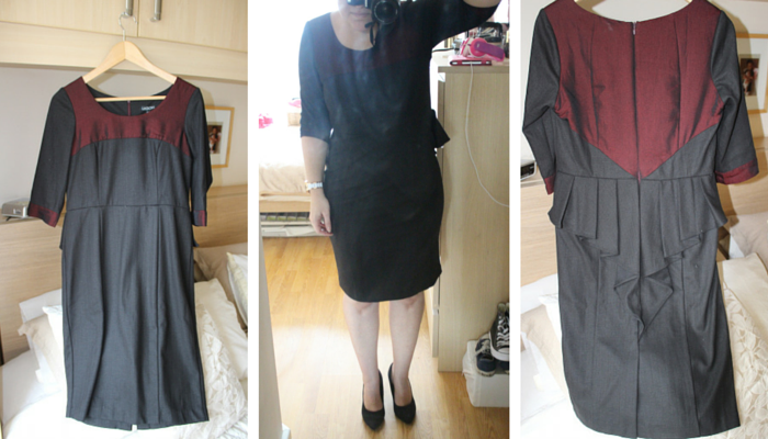 Live Lagom - Black dress collage 12