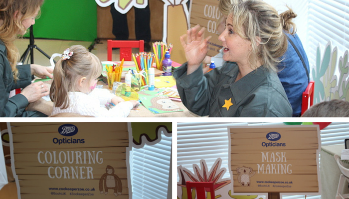 Mask Making & Colouring Corner