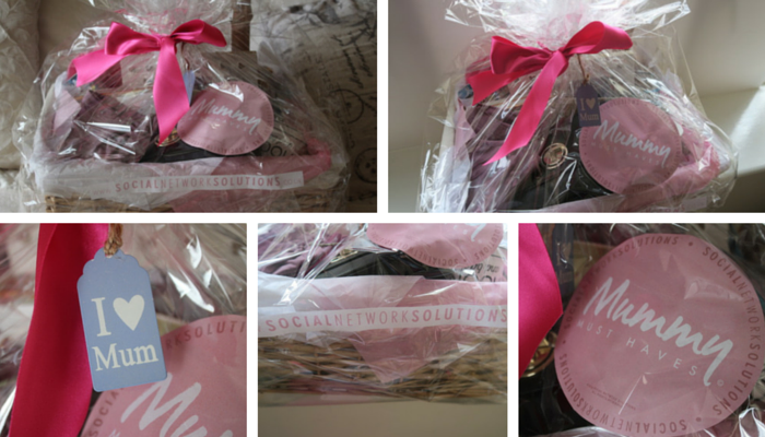 Mother's Day Must Have Hamper collage 1