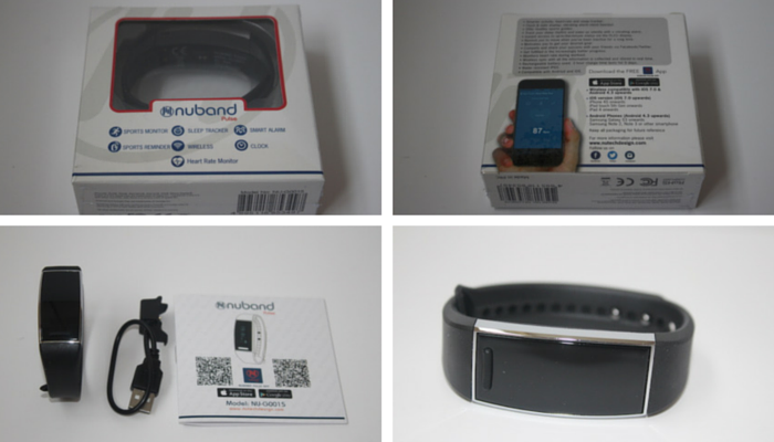 NuBand Activ wireless activity tracker collage13