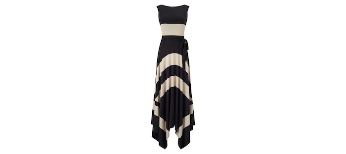 Phase Eight Wide Stripe Maxi Dress