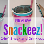 Review – Snackeez 2-in-1 Snack and Drink cup!