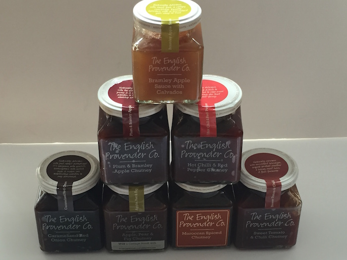 Bundle of Chutneys from The English Provender Co