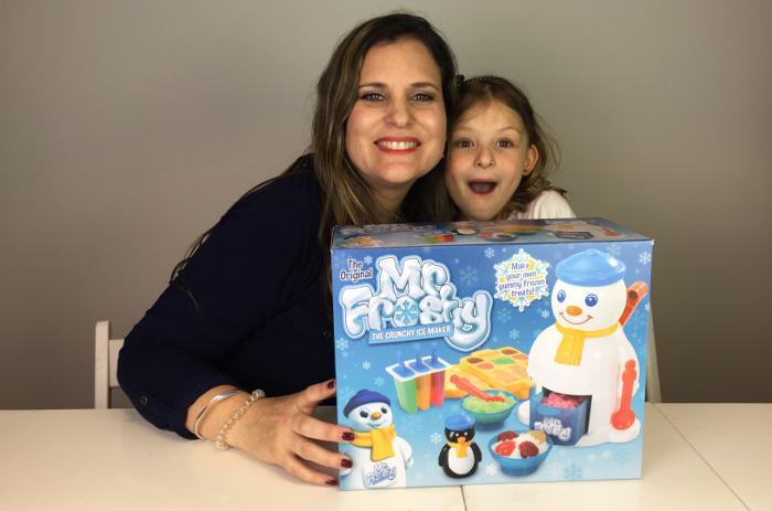 Bella and Mummy Having Frosty Fun