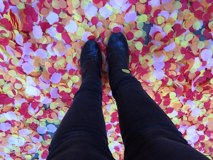 Floor with Petals