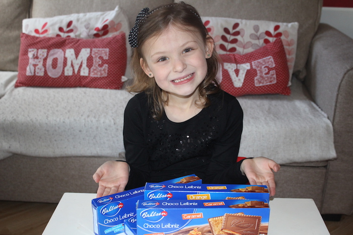 Bella with all Choco Leibniz range