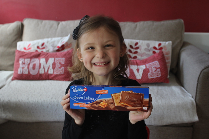 Bella with Choco Leibniz Caramel