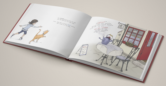 Mock Up of the book