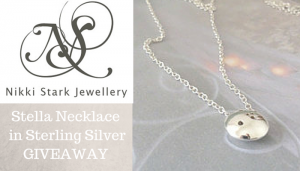 Stella Necklace in Sterling Silver by Nikki Stark Jewellery Giveaway