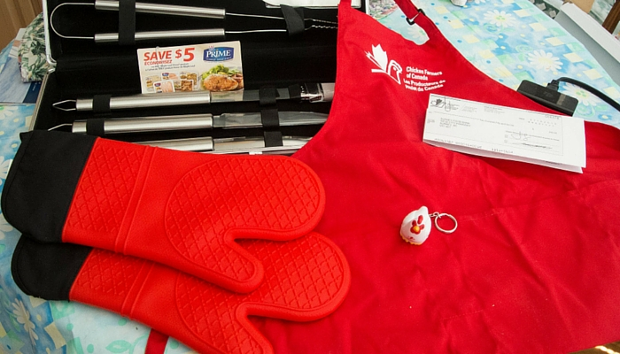 BBQ Apron and Gloves