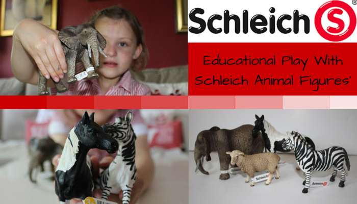 Educational Play the Schleich Way Brochure & Animal Figures FI
