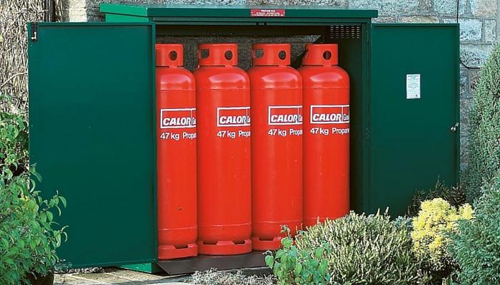 Gas Cyclinder Safe Storage