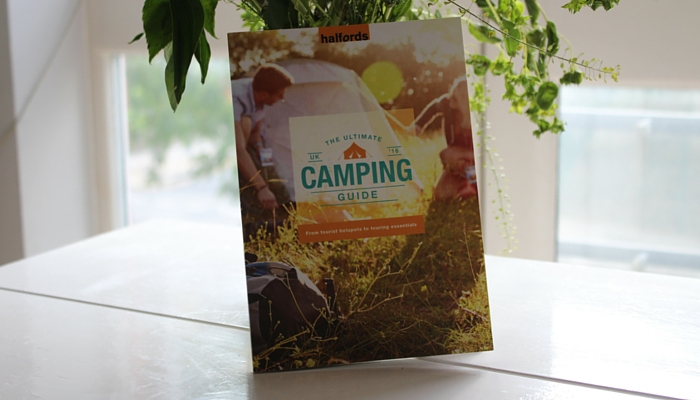 Halfords Ultimate Camping Guide Book