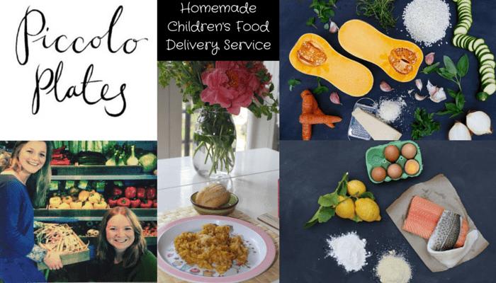 Piccolo Plates – Homemade Children's Food Delivery Service